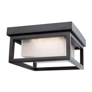 "Overbrook - 8.25"" 12W 1 LED Outdoor Flush Mount"