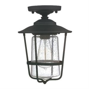 "Spencer - 12"" One Light Outdoor Flush Mount"