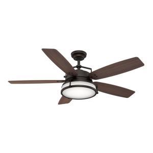 "Caneel Bay - 56"" Ceiling Fan with Light Kit"