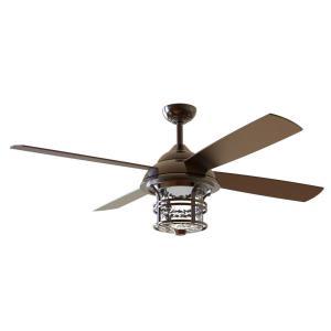 "Courtyard - 56"" Ceiling Fan with Light Kit"