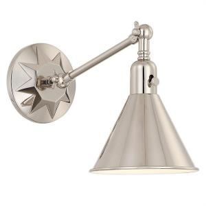 "Morgan - 7"" One Light Wall Sconce"