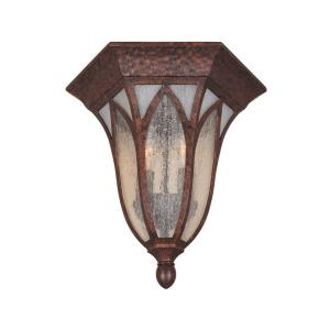 Berkshire - Two Light Outdoor Flush Mount