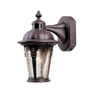 Quintessence Motion Detector - One Light Outdoor Wall Lantern