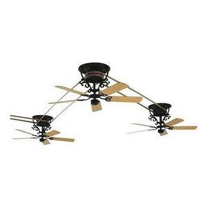 """15.5"""" Bourbon Street Ceiling Fan Motor and Assembly"""