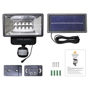 "12"" 10 LED Solar Security Light with Motion Sensor"