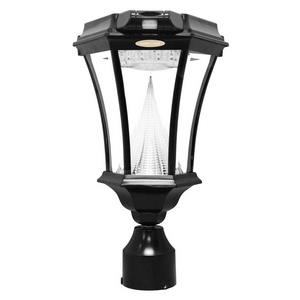 "Victorian - 18"" 13 LED 3 Mounting Options Solar Light with Motion Sensor"