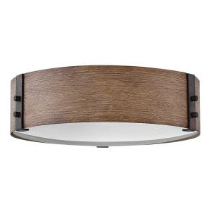 Sawyer - Three Light Outdoor Flush Mount