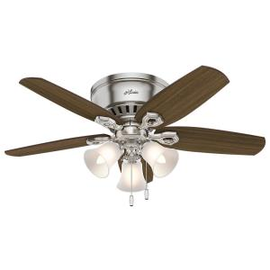 "Builder Low Profile - 42"" Ceiling Fan with Light Kit"