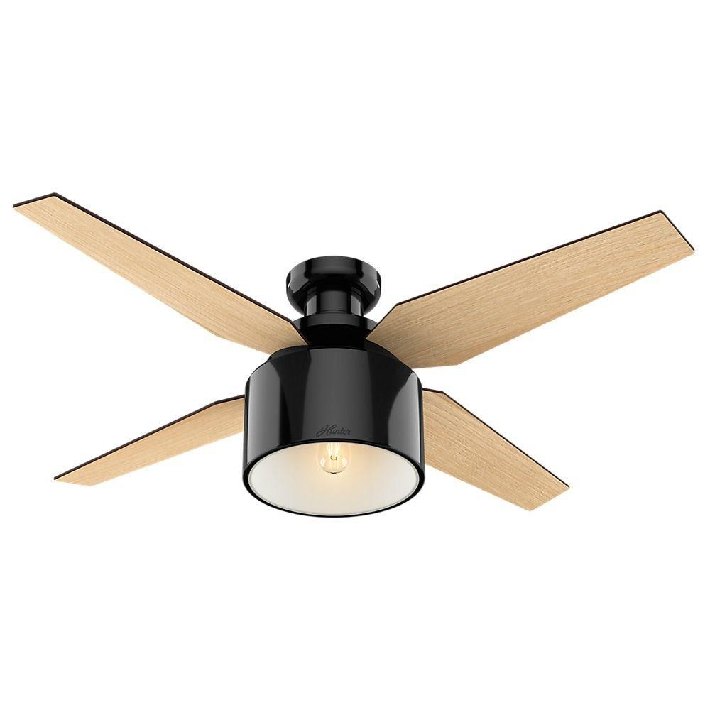 Hunter Fans 59259 Crawford 52 Inch Ceiling Fan With Light Kit