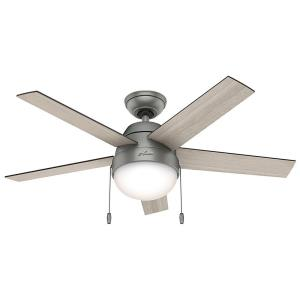 "Anslee - 46"" Ceiling Fan with Kit"