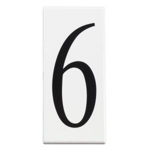 "Utilitarian - 5"" Number 6 Address Light Panel  (Pack of 10)"