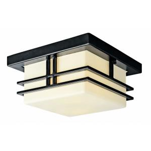 Tremillo - Two Light Outdoor Flush Mount