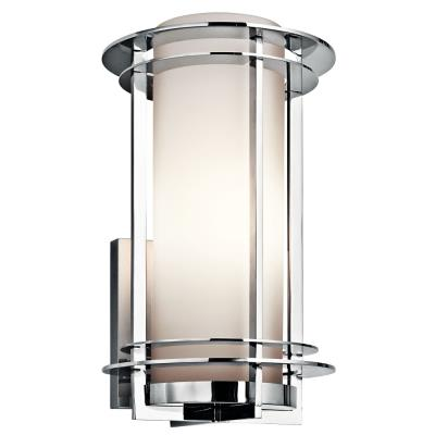Kichler lighting 49346pss316 pacific edge one light outdoor wall mount