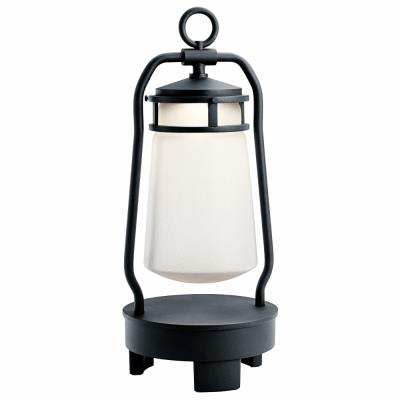 Kichler Lighting 49500BKTLED Portable LED Lantern with Bluetooth Speaker