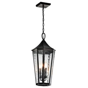 Rochdale - Four Light Outdoor Pendant