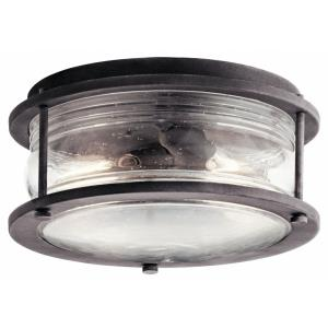 Ashland Bay - Two Light Outdoor Flush Mount