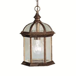 """Barrie - 13.5"""" 9W 1 LED Outdoor Hanging Pendant"""