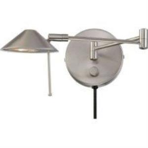 Rhine - One Light Swing Arm Wall Sconce with Mirror