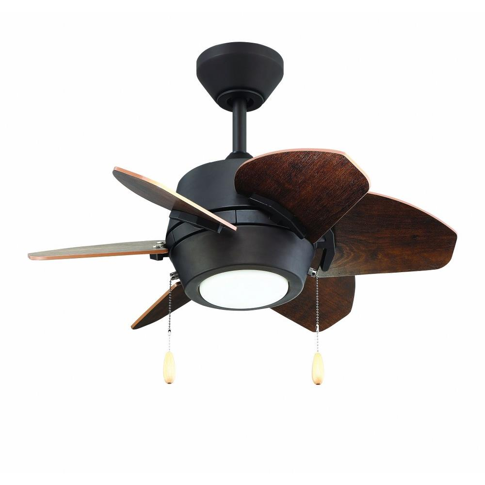 Litex Gaskin 24 Inch Ceiling Fan With Light Kit Ga246l Ceiling Fans Traditional