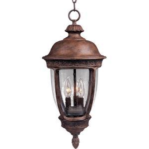 Knob Hill DC - Three Light Outdoor Hanging Lantern