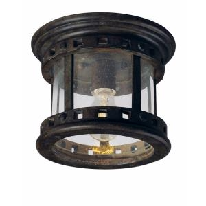 Santa Barbara VX - One Light Outdoor Flush Mount