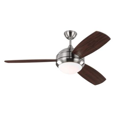 Monte Carlo Fans 3discuss Discus Trio 52 Ceiling Fan With Light Kit