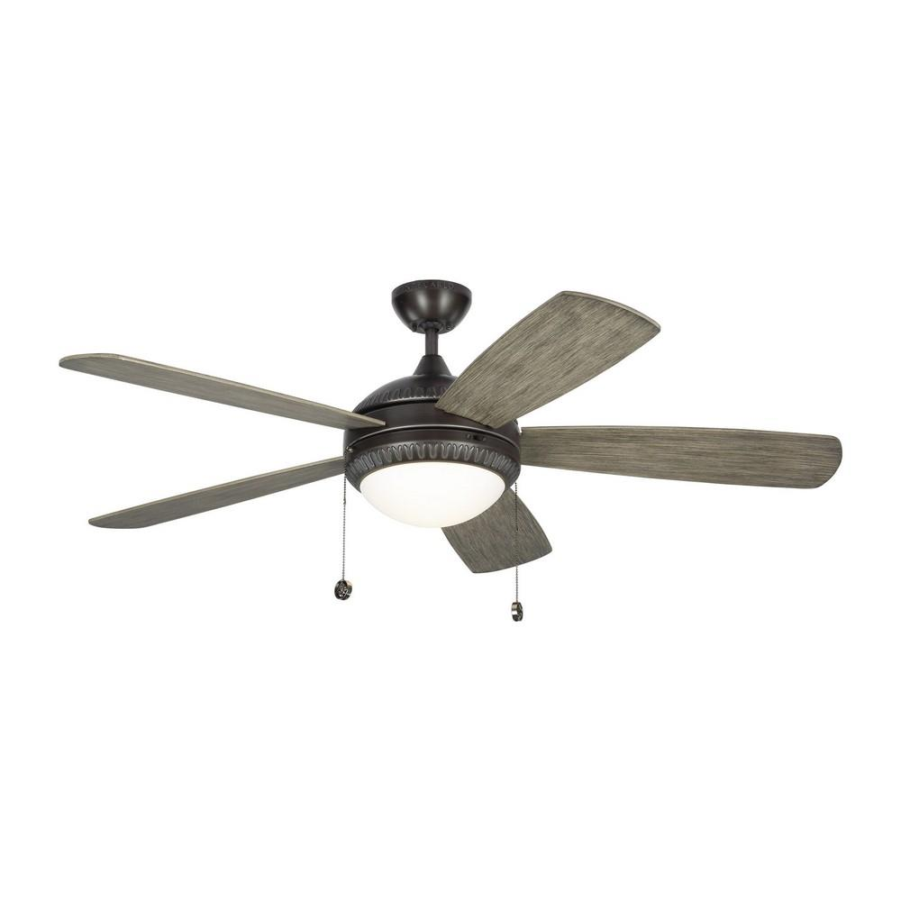 Monte Carlo Fans 5dio52 Discus Ornate 52 Ceiling Fan With Light Kit Tap To Expand