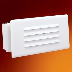 LED Step Light with Louvered Face Plate