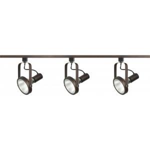 Three Light Gimbal Ring Track Kit