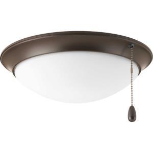 """AirPro - 11.13"""" 16.5W 1 LED Ceiling Fan Light Kit"""