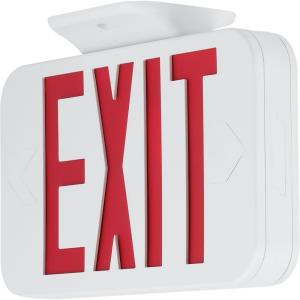 Outdoor sign lighting petpe 115 149w led emergency exit light mozeypictures Gallery