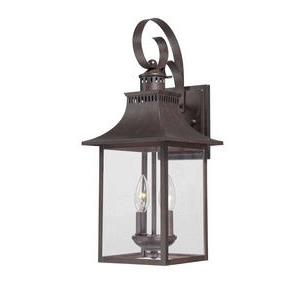 Chancellor - Two Light Outdoor Wall Lantern