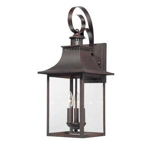 Chancellor - Three Light Outdoor Wall Lantern
