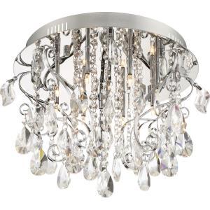 Platinum Enrapture - Eight Light Extra Large Bath Vanity
