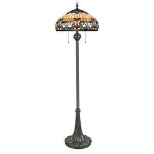 Belle Fleur - Three Light Floor Lamp