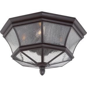Newbury - Three Light Outdoor Flush Mount