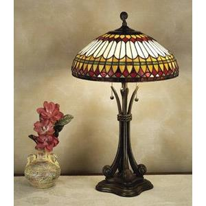 West End - Two Light Table Lamp