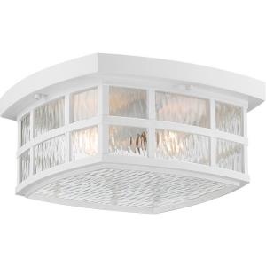 Stonington - Two Light Medium Outdoor Flush Mount