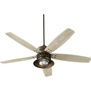 """Portico - 60"""" Patio Ceiling Fan with Light Kit"""