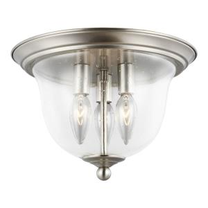 Belton - 40W Three Light Flush Mount