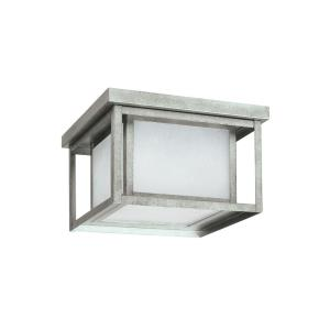 Hunnington - 75W Two Light Outdoor Flush Mount