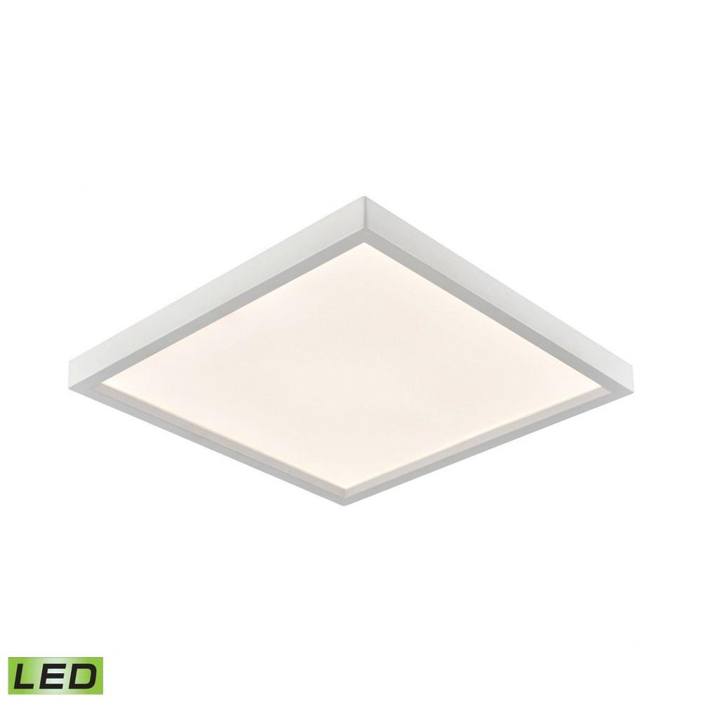 Thomas Lighting-CL791734-15 1 LED Square Flush Mount  White