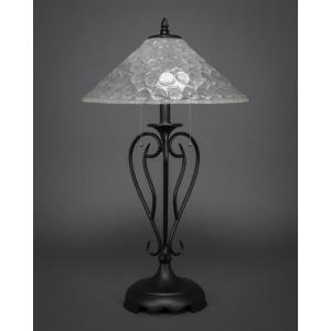 Olde Iron - Two Light Table Lamp