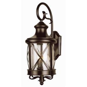 Two Light Outdoor Wall Mount