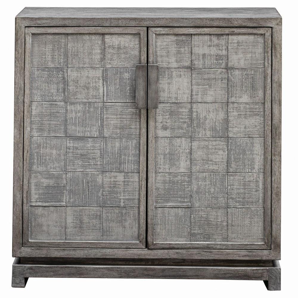 Uttermost 25444 Hamadi   36 inch 2 Door Cabinet Warm ...