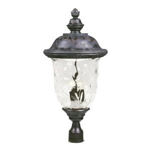 Carriage House Dc Three Light Outdoor Pole Post Mount